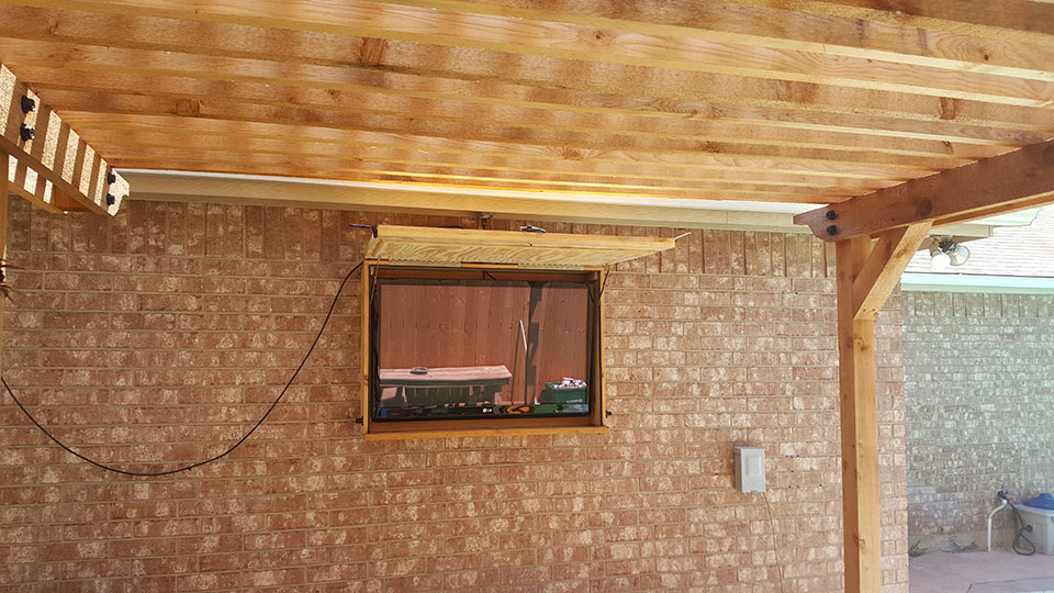 Outdoor Television Installation